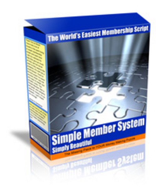 Product picture simple member system MRR