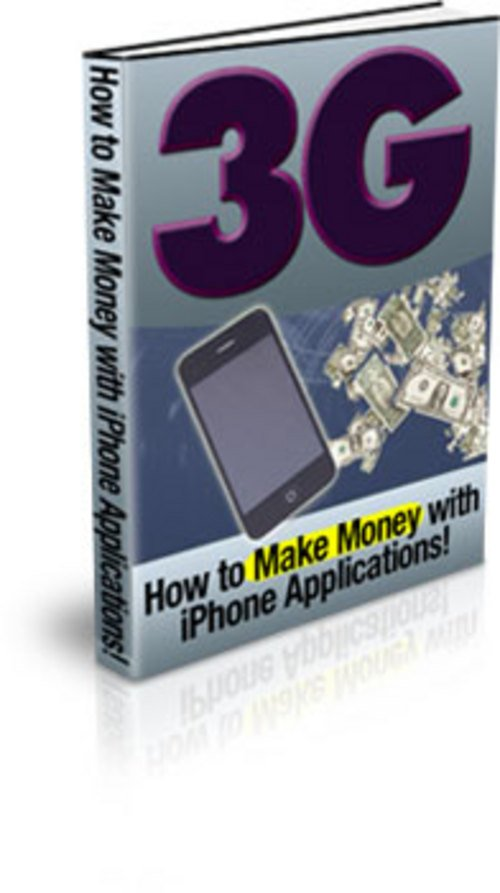 Product picture 3g-How to Make Money With iPhone Applications MRR